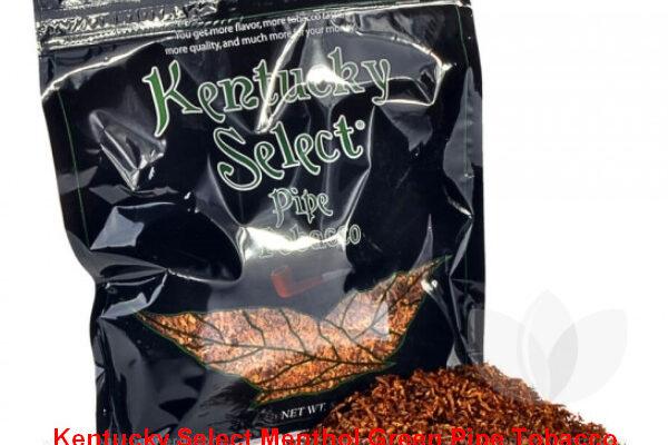 Kentucky Select Menthol Green Pipe Tobacco