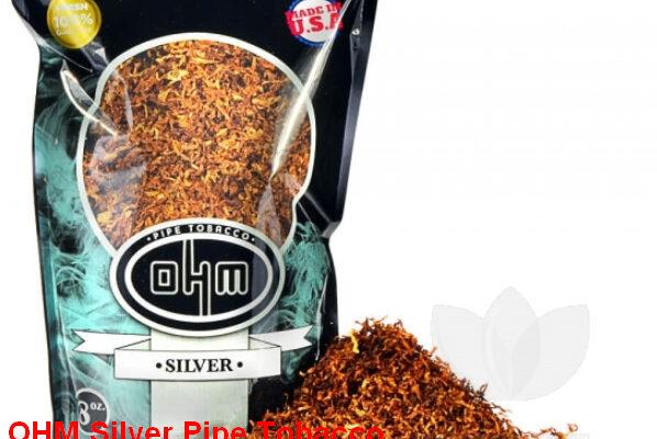 OHM Silver Pipe Tobacco