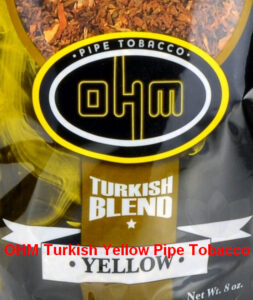 OHM Turkish Yellow Tobacco