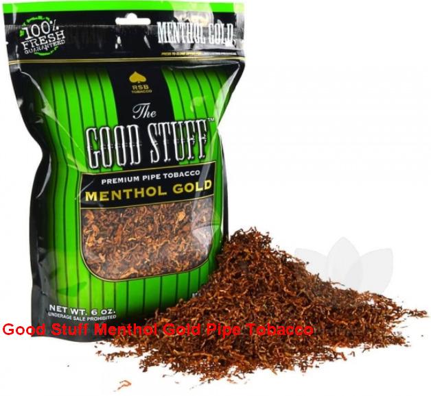 Good Stuff Menthol Gold Pipe Tobacco
