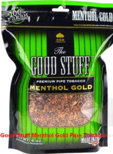 Good Stuff Menthol Gold Tobacco