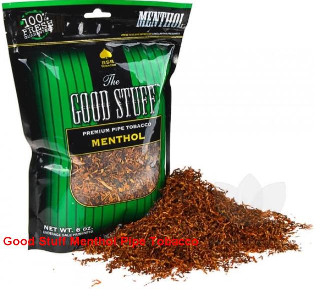 Good Stuff Menthol Pipe Tobacco
