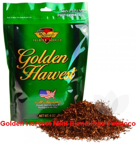 Golden Harvest Mint Blend Pipe Tobacco