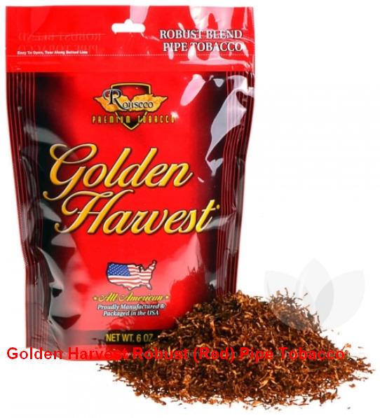 Golden Harvest Robust (Red) Pipe Tobacco