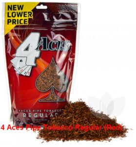 4 Aces Pipe Tobacco Regular (Red)