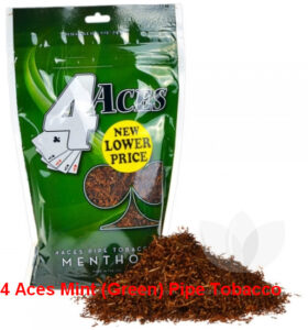 4 Aces Mint (Green) Pipe Tobacco