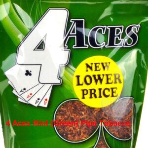 4 туза мятный (зеленый) трубочный табак