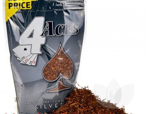 4 Aces Pipe Tobacco Silver