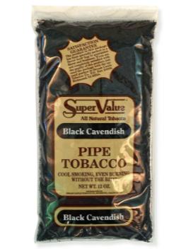 Super Value Black Cavendish Pipe Tobacco